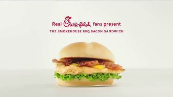 Chick-fil-A Smokehouse BBQ Bacon Sandwich TV Spot, 'Jarell & Lauren: The Best Part' - Thumbnail 1