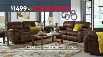 Rooms to Go Memorial Day Sale TV Spot, 'Five Piece Reclining Living Room' - Thumbnail 3