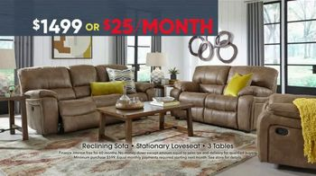 Rooms to Go Memorial Day Sale TV Spot, 'Five Piece Reclining Living Room' - Thumbnail 4