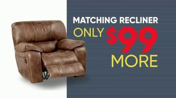 Rooms to Go Memorial Day Sale TV Spot, 'Five Piece Reclining Living Room' - Thumbnail 5