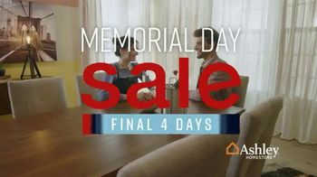 Ashley HomeStore Memorial Day Sale TV Spot, 'Final Four Days: 25 Percent Off' Song by Midnight Riot - Thumbnail 2