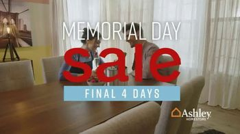 Ashley HomeStore Memorial Day Sale TV Spot, 'Final Four Days: 25 Percent Off' Song by Midnight Riot - Thumbnail 3