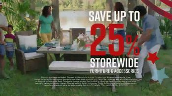 Ashley HomeStore Memorial Day Sale TV Spot, 'Final Four Days: 25 Percent Off' Song by Midnight Riot - Thumbnail 4