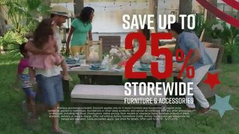 Ashley HomeStore Memorial Day Sale TV Spot, 'Final Four Days: 25 Percent Off' Song by Midnight Riot - Thumbnail 5