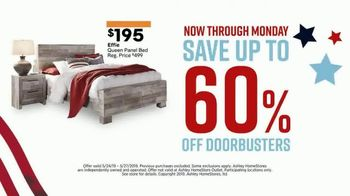 Ashley HomeStore Memorial Day Sale TV Spot, 'Final Four Days: 25 Percent Off' Song by Midnight Riot - Thumbnail 6