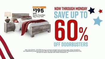 Ashley HomeStore Memorial Day Sale TV Spot, 'Final Four Days: 25 Percent Off' Song by Midnight Riot - Thumbnail 7