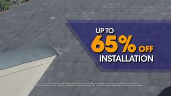1-800-HANSONS TV Spot, 'Stain-Free Roof: 65 Percent Off Installation' - Thumbnail 3