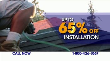 1-800-HANSONS TV Spot, 'Stain-Free Roof: 65 Percent Off Installation' - Thumbnail 6