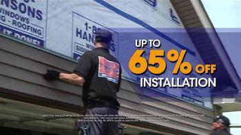 1-800-HANSONS TV Spot, 'Weatherproof Siding: 65 Percent Off Installation' - Thumbnail 3
