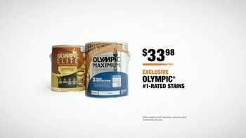 The Home Depot TV Spot, 'Olympic Stains' - Thumbnail 9