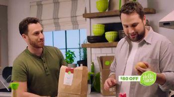 HelloFresh Memorial Day Flash Sale TV Spot, 'Mean Burger' - Thumbnail 3