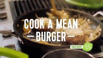 HelloFresh Memorial Day Flash Sale TV Spot, 'Mean Burger' - Thumbnail 4