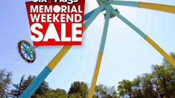 Six Flags Memorial Weekend Sale TV Spot, 'Pandemonium' - Thumbnail 1