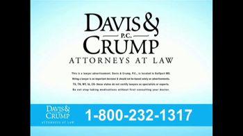Davis & Crump, P.C. TV Spot, 'Blood Pressure Medicine' - Thumbnail 9