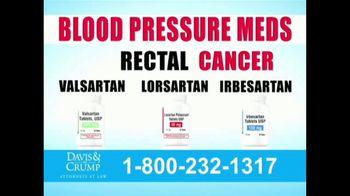 Davis & Crump, P.C. TV Spot, 'Blood Pressure Medicine' - Thumbnail 6