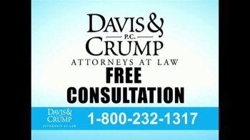 Davis & Crump, P.C. TV Spot, 'Blood Pressure Medicine' - Thumbnail 8