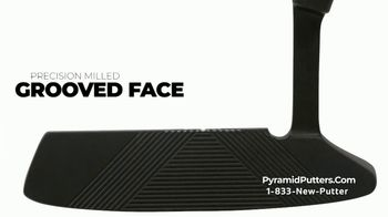 Revolution Golf Pyramid Putters TV Spot, 'Precision Milled Grooved Face' - Thumbnail 3