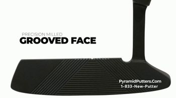Revolution Golf Pyramid Putters TV Spot, 'Precision Milled Grooved Face' - Thumbnail 4