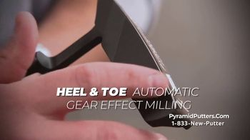 Revolution Golf Pyramid Putters TV Spot, 'Precision Milled Grooved Face' - Thumbnail 5