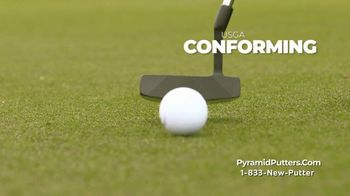 Revolution Golf Pyramid Putters TV Spot, 'Precision Milled Grooved Face' - Thumbnail 6