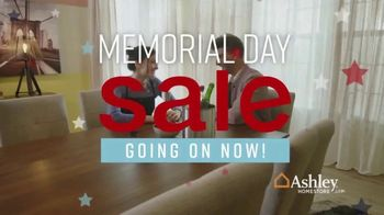 Ashley HomeStore Memorial Day Sale TV Spot, 'Heroes' Song by Midnight Riot - Thumbnail 3