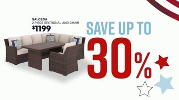 Ashley HomeStore Memorial Day Sale TV Spot, 'Extended: Patio Furniture' Song by Midnight Riot - Thumbnail 5
