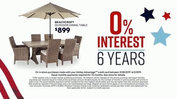 Ashley HomeStore Memorial Day Sale TV Spot, 'Extended: Patio Furniture' Song by Midnight Riot - Thumbnail 6