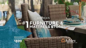Ashley HomeStore Memorial Day Sale TV Spot, 'Extended: Patio Furniture' Song by Midnight Riot - Thumbnail 9
