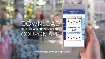 Rooms to Go Memorial Day Sale TV Spot, 'Coupon App' - Thumbnail 9