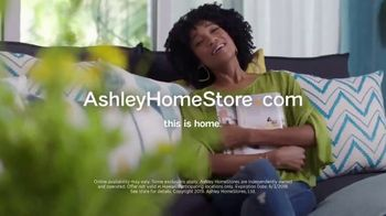 Ashley HomeStore Memorial Day Sale TV Spot, 'Bed, Tables & Sectional' Song by Midnight Riot - Thumbnail 9