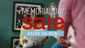 Ashley HomeStore Memorial Day Sale TV Spot, 'Bed, Tables & Sectional' Song by Midnight Riot - Thumbnail 2