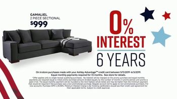 Ashley HomeStore Memorial Day Sale TV Spot, 'Bed, Tables & Sectional' Song by Midnight Riot - Thumbnail 6