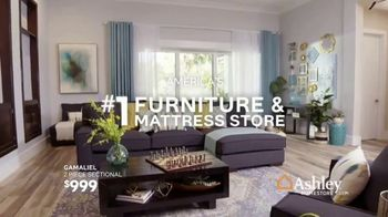 Ashley HomeStore Memorial Day Sale TV Spot, 'Bed, Tables & Sectional' Song by Midnight Riot - Thumbnail 8