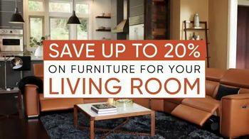 Dania Furniture Living Room Event TV Spot, 'Living Room Storage' - Thumbnail 3