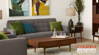 Dania Furniture Living Room Event TV Spot, 'Living Room Storage' - Thumbnail 4