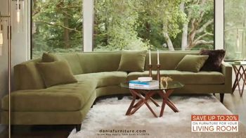 Dania Furniture Living Room Event TV Spot, 'Living Room Storage' - Thumbnail 6