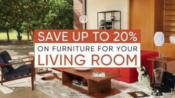 Dania Furniture Living Room Event TV Spot, 'Living Room Storage' - Thumbnail 7