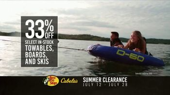 Bass Pro Shops Summer Clearance TV Spot, \'Towables and Ski Vests\'