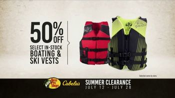 Bass Pro Shops Summer Clearance TV Spot, 'Towables and Ski Vests' - Thumbnail 6