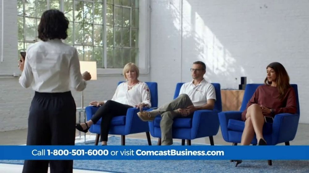 Comcast Business TV Commercial, 'Conference Calls: 75 Mbps ...