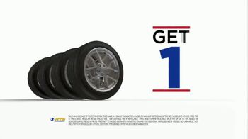 National Tire & Battery TV Spot, 'Turn It Up: Buy Three Tires, Get One Free' - Thumbnail 4