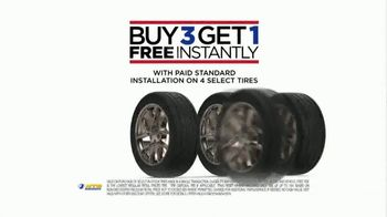 National Tire & Battery TV Spot, 'Turn It Up: Buy Three Tires, Get One Free' - Thumbnail 7