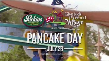 Perkins Restaurant & Bakery Pancake Day TV Spot, '2019 Give Kids the World' - Thumbnail 4