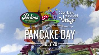 Perkins Restaurant & Bakery Pancake Day TV Spot, '2019 Give Kids the World' - Thumbnail 6