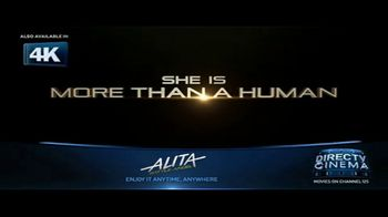 DIRECTV Cinema TV Spot, 'Alita: Battle Angel' - Thumbnail 1