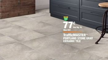 The Home Depot TV Spot, 'Somewhere Unexpected: TrafficMASTER Flooring' - Thumbnail 10
