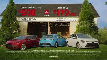 Toyota Summer Savings Event TV Spot, 'Corolla: Cash Back Incentives' [T2] - Thumbnail 7