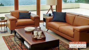 Scandinavian Designs Living Room Event TV Spot, 'Modern and Contemporary' - Thumbnail 4