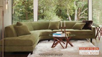 Scandinavian Designs Living Room Event TV Spot, 'Modern and Contemporary' - Thumbnail 5