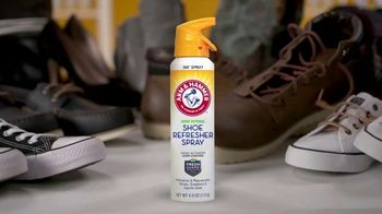 Arm & Hammer Foot Care Shoe Refresher Spray TV Spot, 'Shoes and Gear' - Thumbnail 1